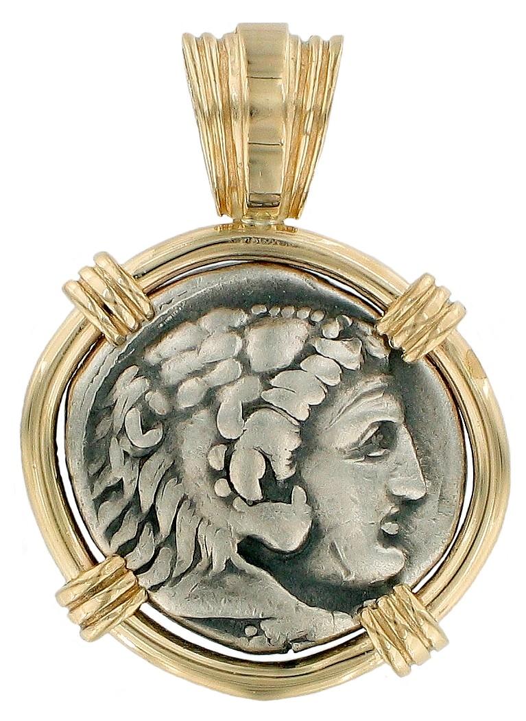 Greek Coin Pendants
