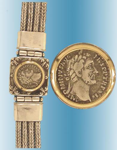 Antoninus Pius Coin Bracelet