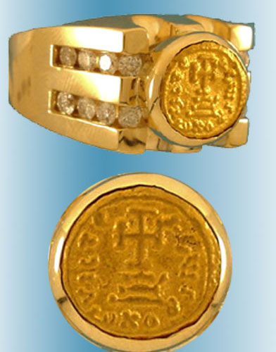 Byzantine Coin Rings