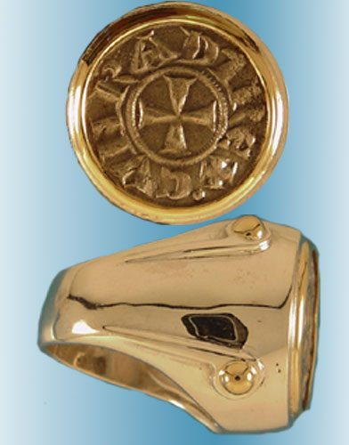 European Coin Rings