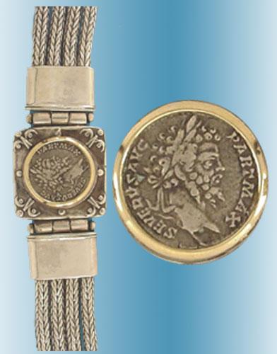 Septimius Severus Coin Bracelet