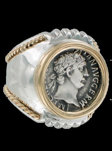 Trajan Coin Ring