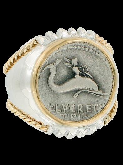 Neptune Coin Ring